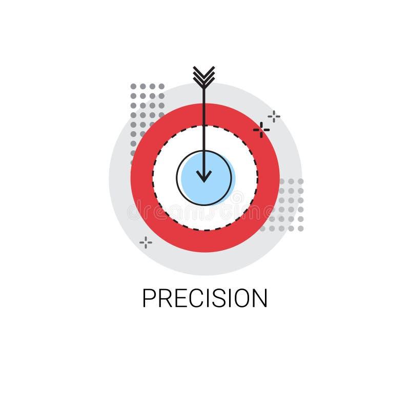 精确度目标箭头得到目标企业概念象 向量例证