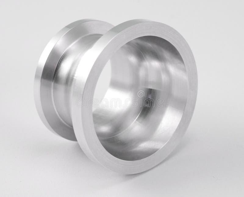 精确度金属零件 库存图片