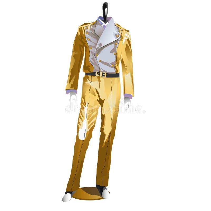 精神欢乐服装,在时装模特的衣裳 皇族释放例证