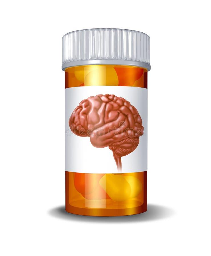 精神病学的药物 向量例证