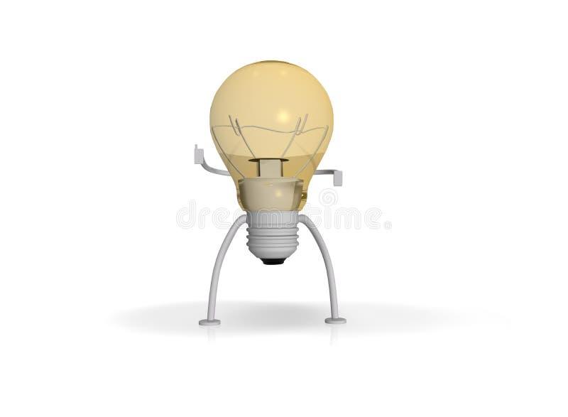 精采创造性的想法 向量例证