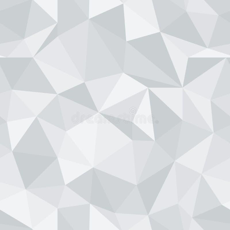 精采无缝的样式 金刚石三角传染媒介背景 库存例证