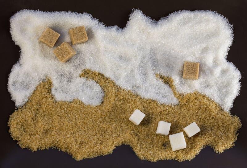糖图片 免版税库存照片