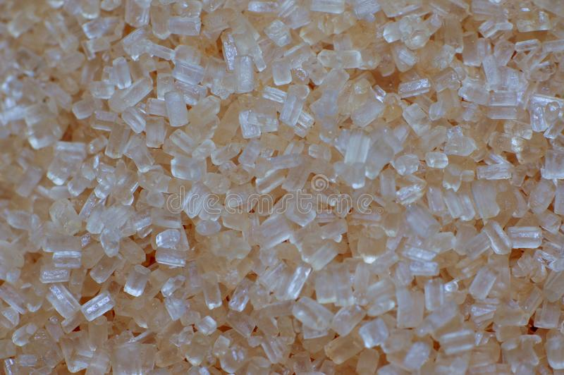 糖场面水晶在厨房里 免版税库存图片