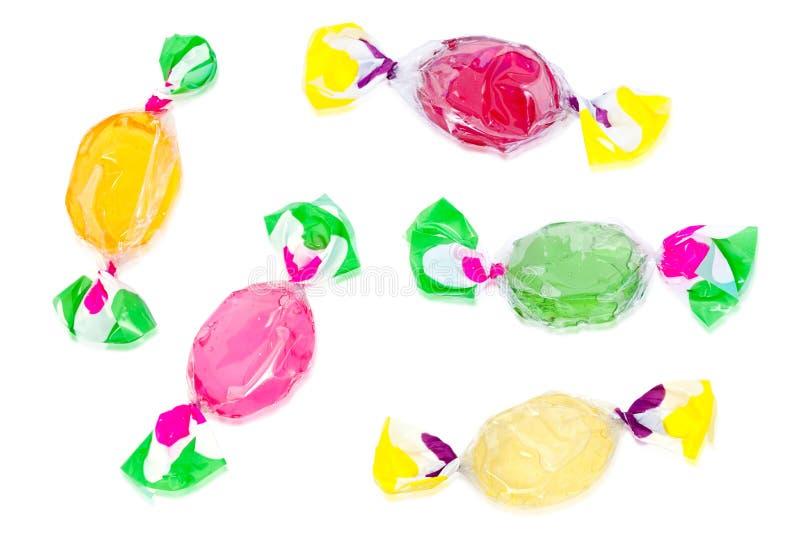 糖果五颜六色的坚硬 免版税库存照片