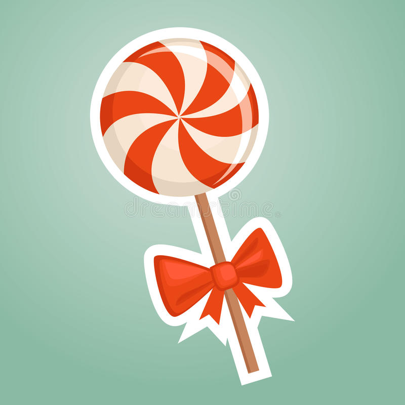 糖果动画片 向量例证