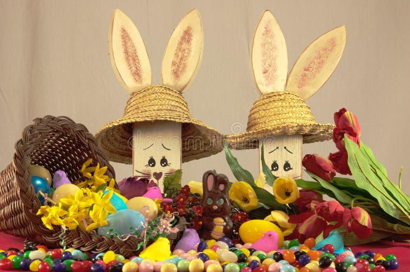 糖果复活节 免版税图库摄影