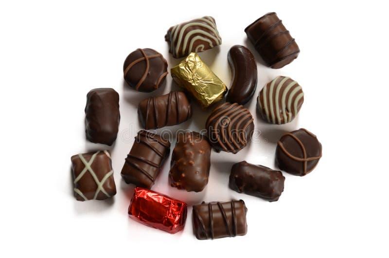 糖果巧克力黑暗牛奶 库存图片