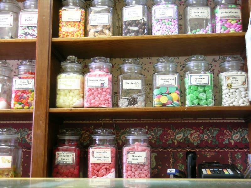糖果店 库存照片