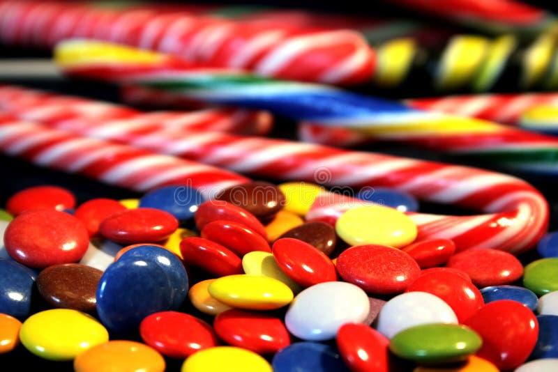 糖果混合 库存图片