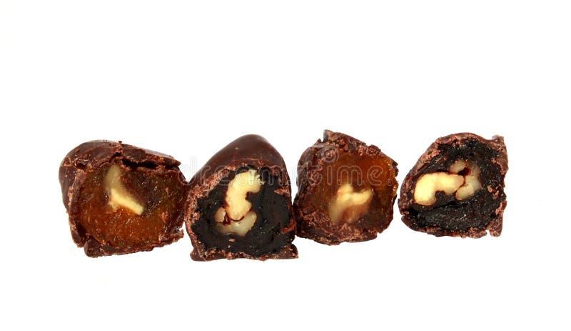 糖果胡说巧克力的果子 免版税库存照片