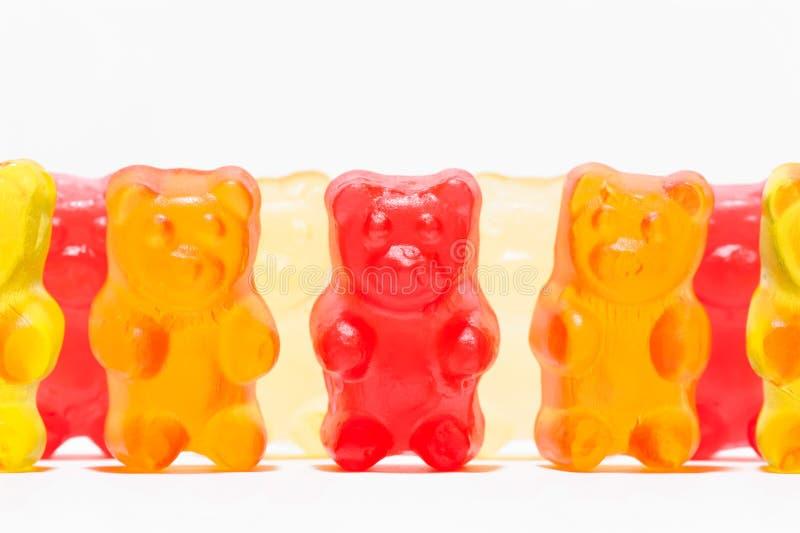 糖果被塑造象玩具熊 免版税库存照片