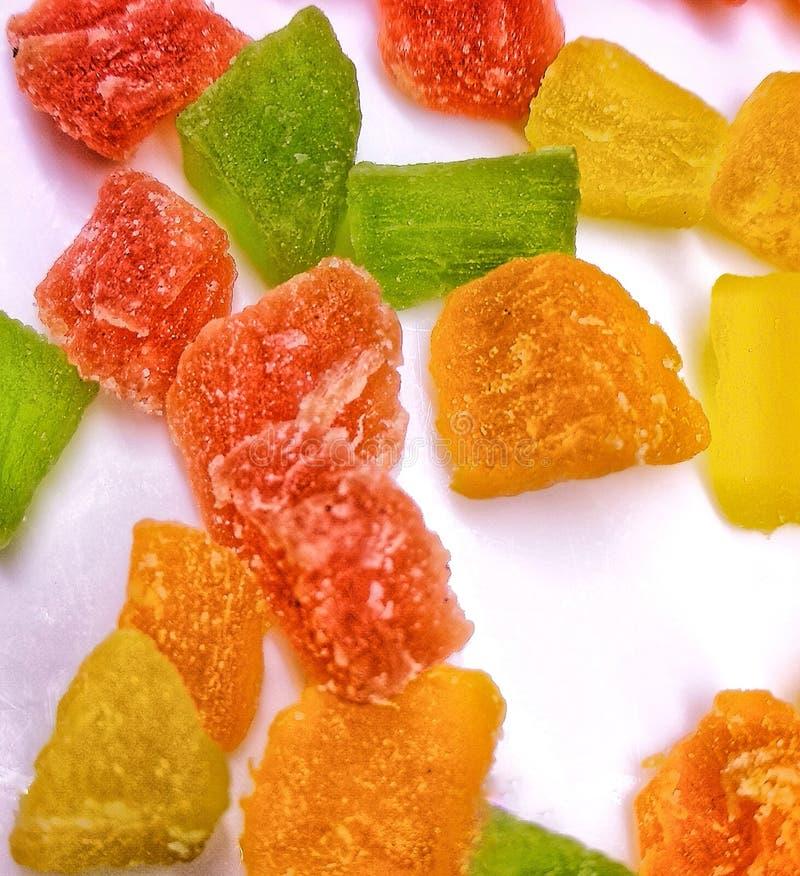 糖果颜色 库存照片