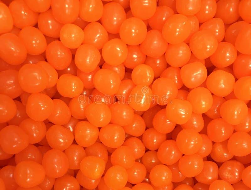 糖果,酸橙味道,橘黄色 库存照片