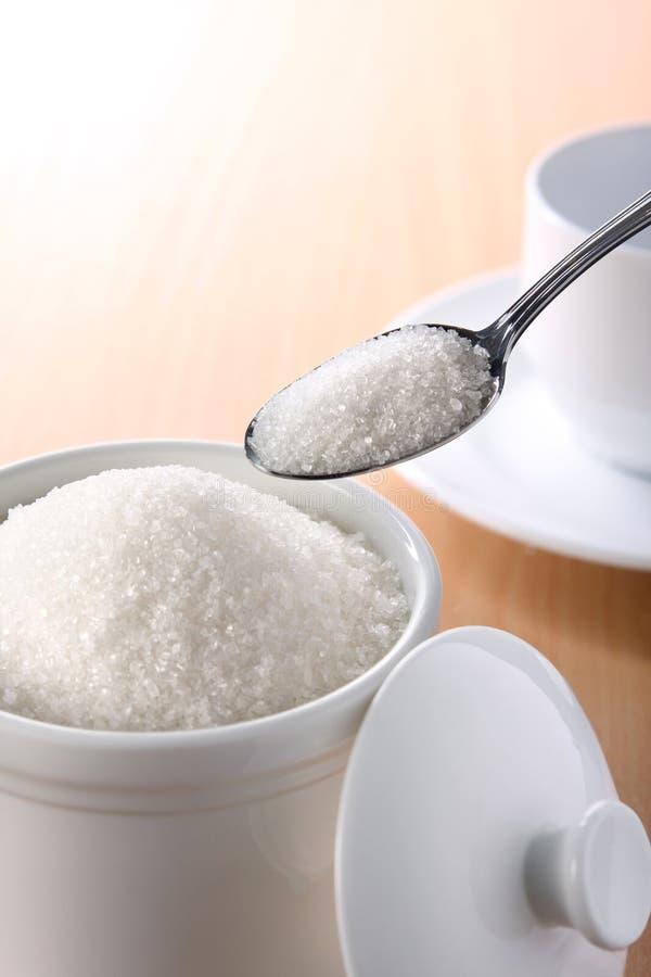 糖白色 库存例证