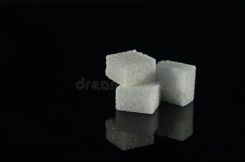 糖立方体 免版税库存图片