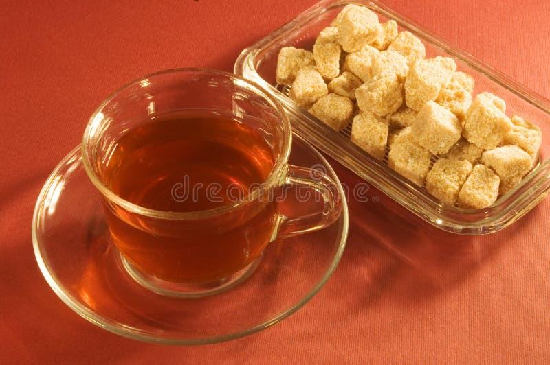 糖茶 库存图片