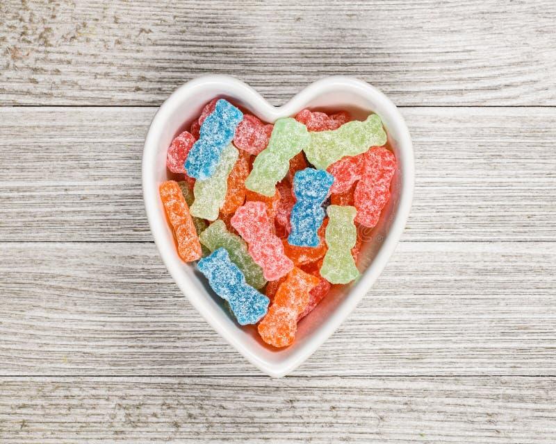糖醋糖果糖垃圾食品 库存图片