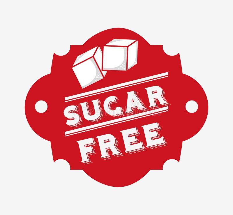 糖释放设计 向量例证