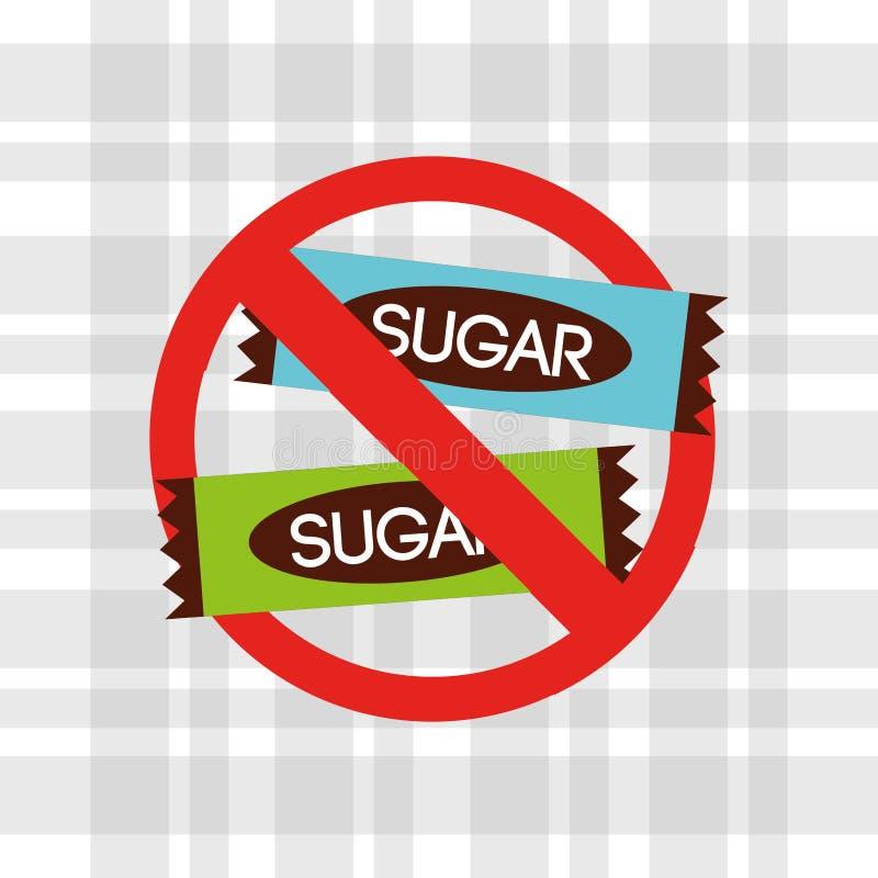 糖释放设计 皇族释放例证