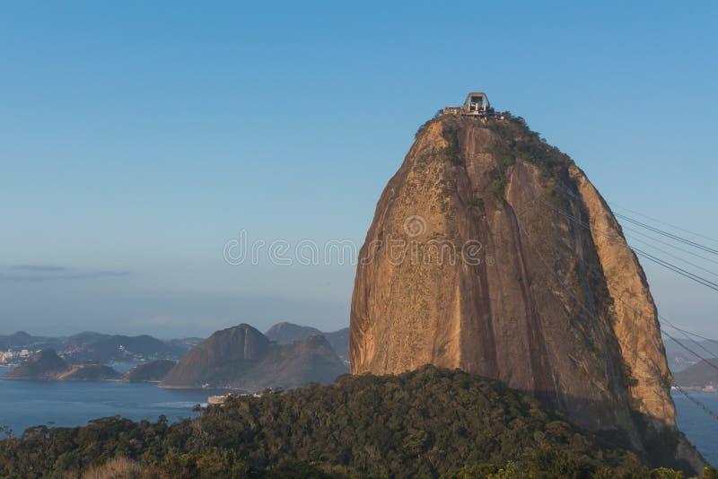 糖面包山-里约热内卢 库存图片