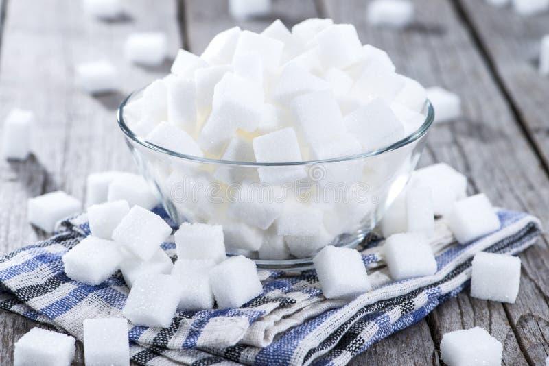 糖(被射击的特写镜头) 图库摄影