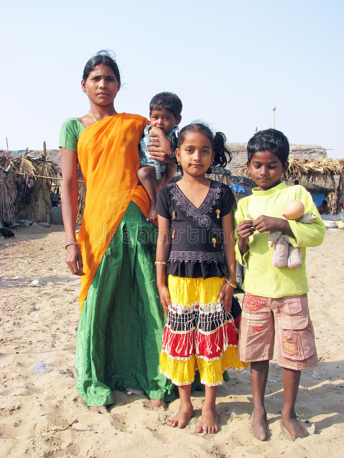 系列印地安人 免版税库存照片