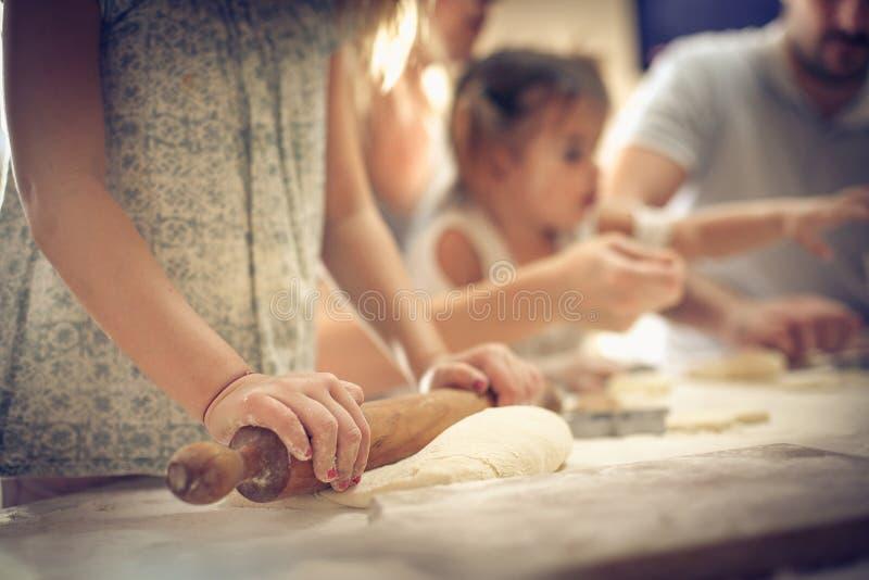系列在厨房里 免版税库存照片