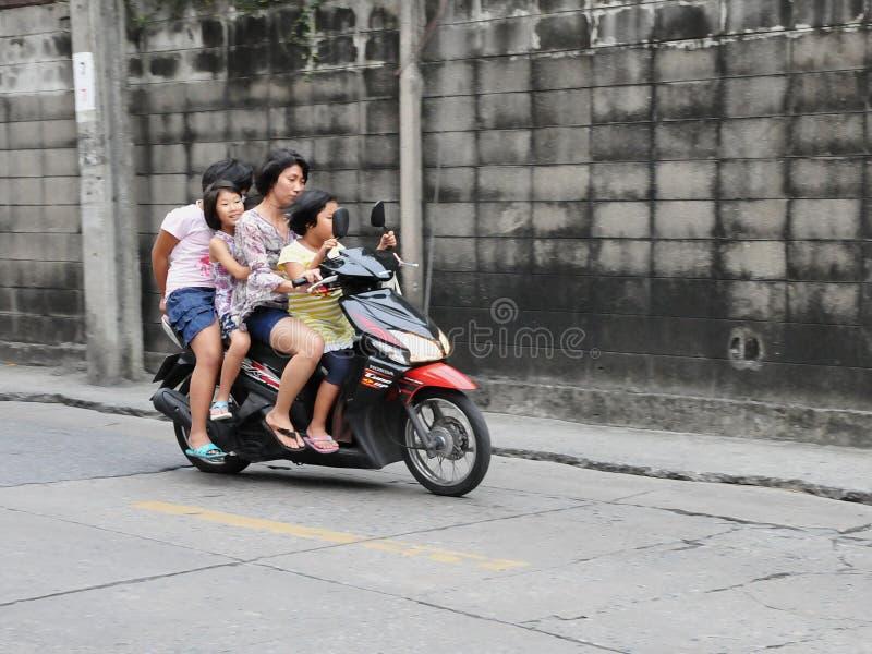 系列摩托车 免版税库存图片