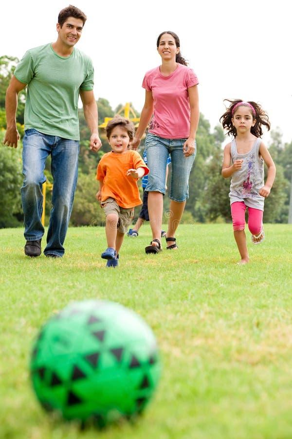 系列橄榄球公园使用 免版税库存照片