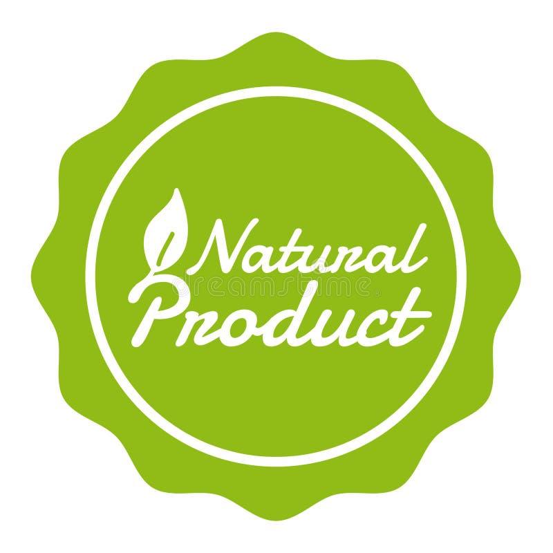 素食主义者按钮天然产品徽章 Eps10传染媒介横幅 皇族释放例证