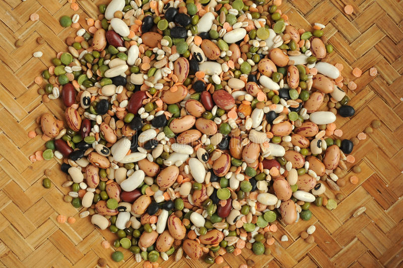 素食食物的混合物豆类. 混合物, bataan.