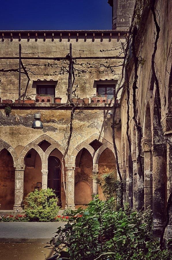 索伦托修道院 库存照片