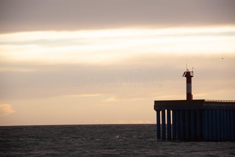 ?? 索契爱德乐码头 库存图片