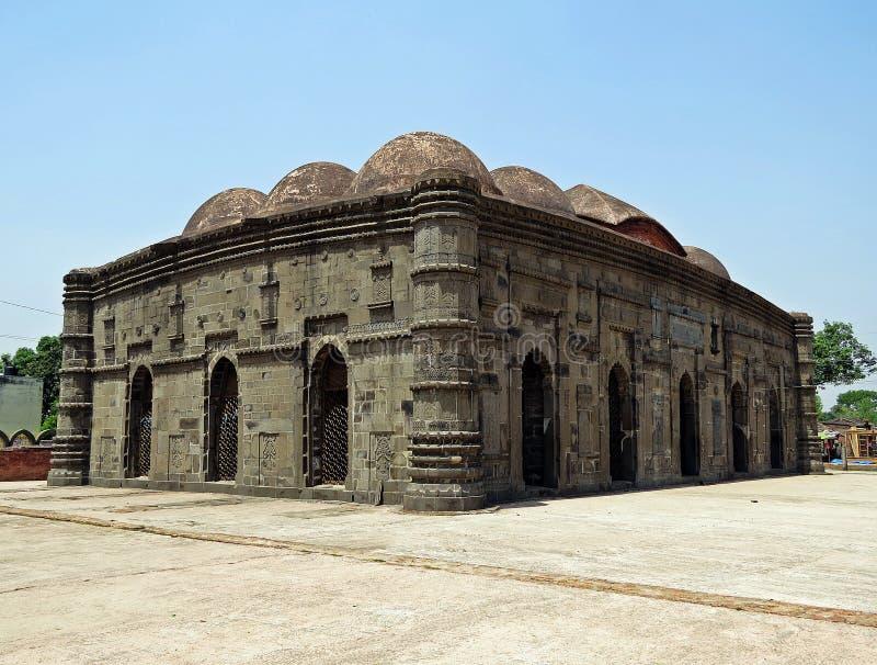 索娜清真寺在拉杰沙希市,孟加拉国 库存图片