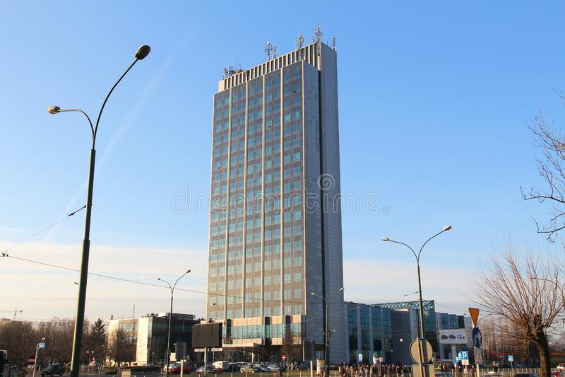 索斯诺维茨市 库存图片