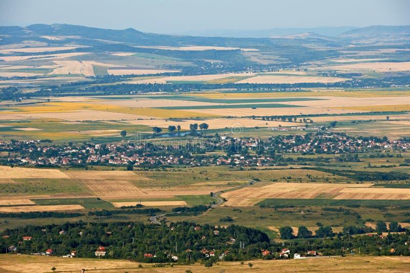 索非亚谷,保加利亚在夏天 库存图片