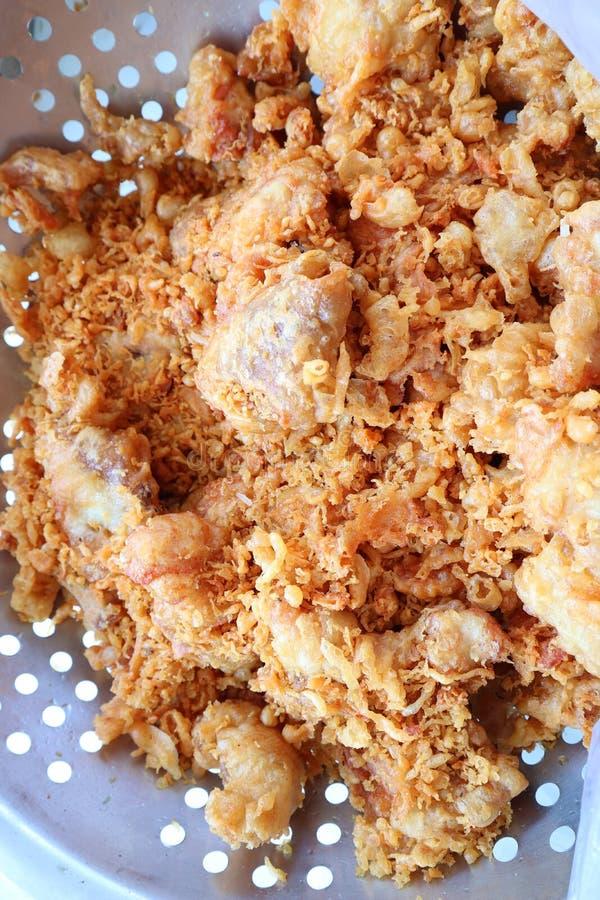 紧密,炸鸡,非常开胃,泰国食物 免版税库存照片
