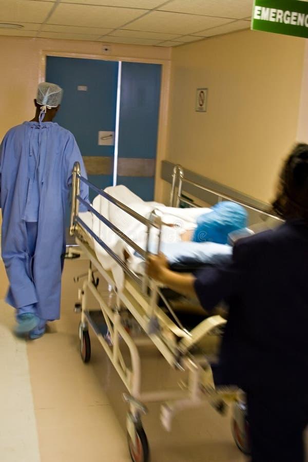 紧急医院 免版税库存图片