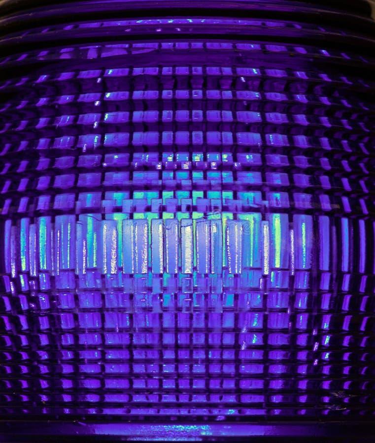 紫外多面的反射性透镜光 库存照片
