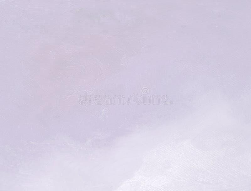 紫罗兰色油画帆布背景 免版税库存照片