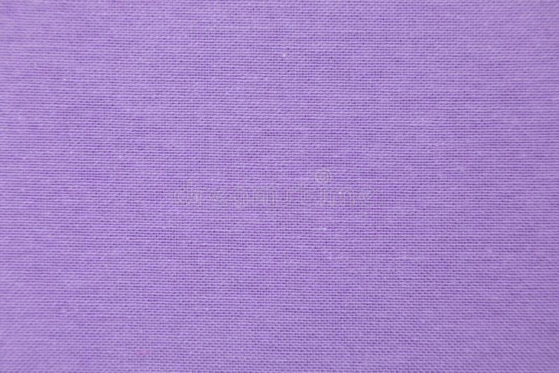 紫罗兰色自然亚麻制织品 r 库存照片
