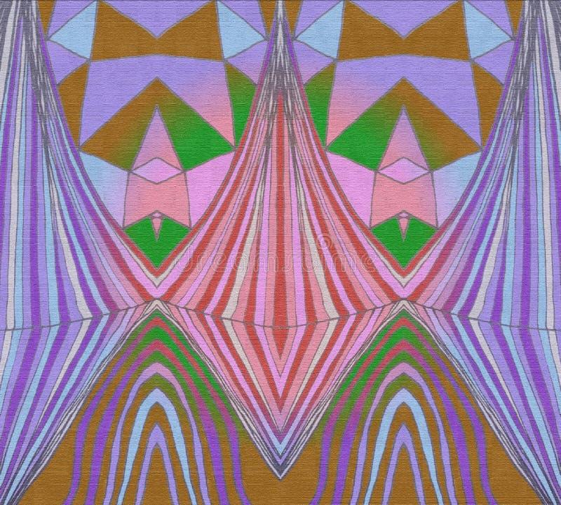 紫罗兰色面具递凹道 免版税库存图片