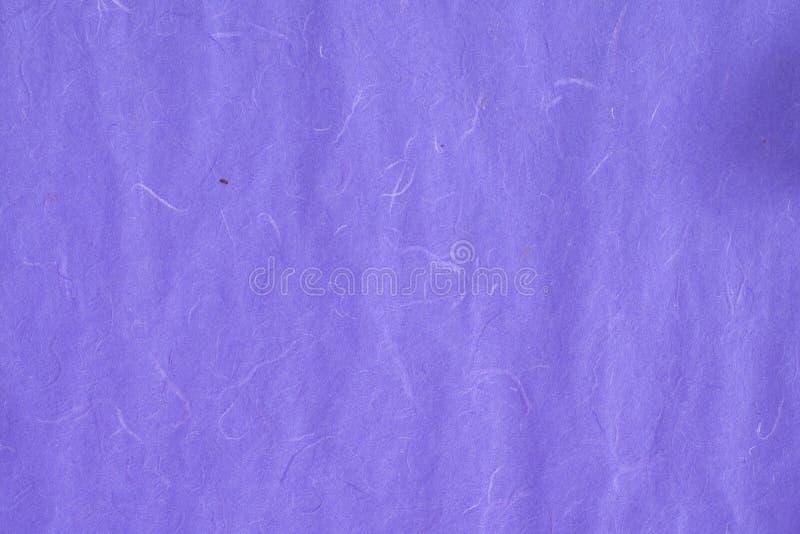 紫罗兰色颜色桑树纸纹理 库存照片