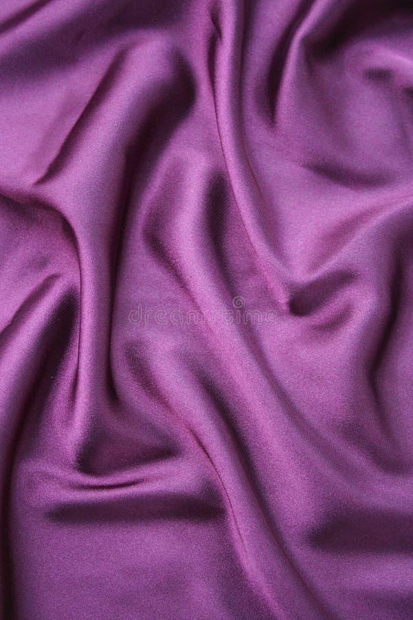 紫色丝绸 免版税库存图片