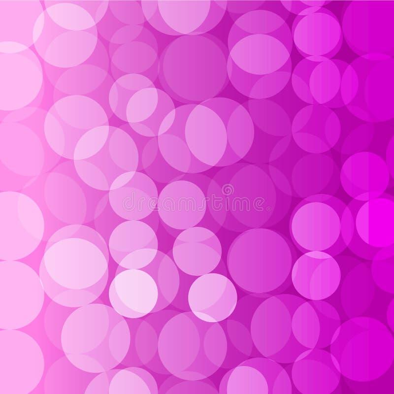 紫色圈子背景 库存图片