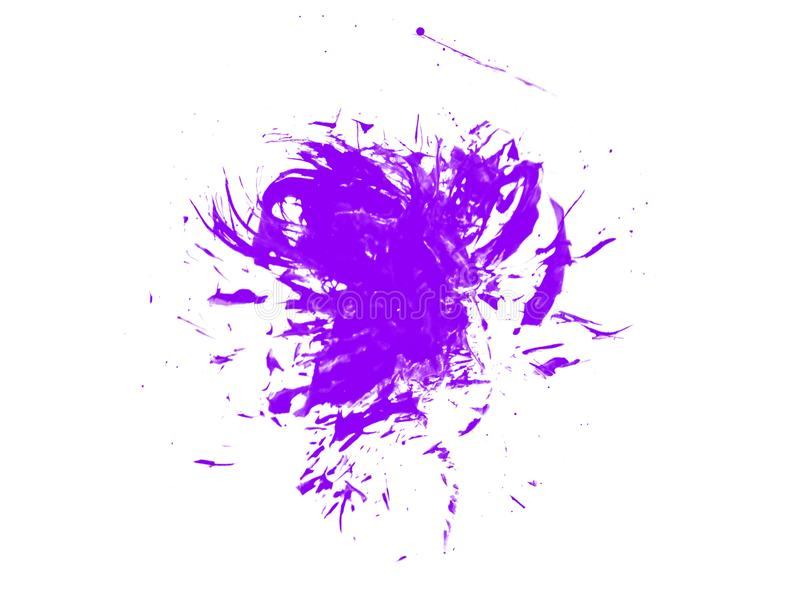 紫色墨水水彩油漆泼溅物飞溅难看的东西背景污点摘要纹理splat艺术图片
