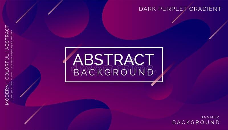 紫色抽象背景,现代五颜六色的背景,动态抽象背景 库存图片