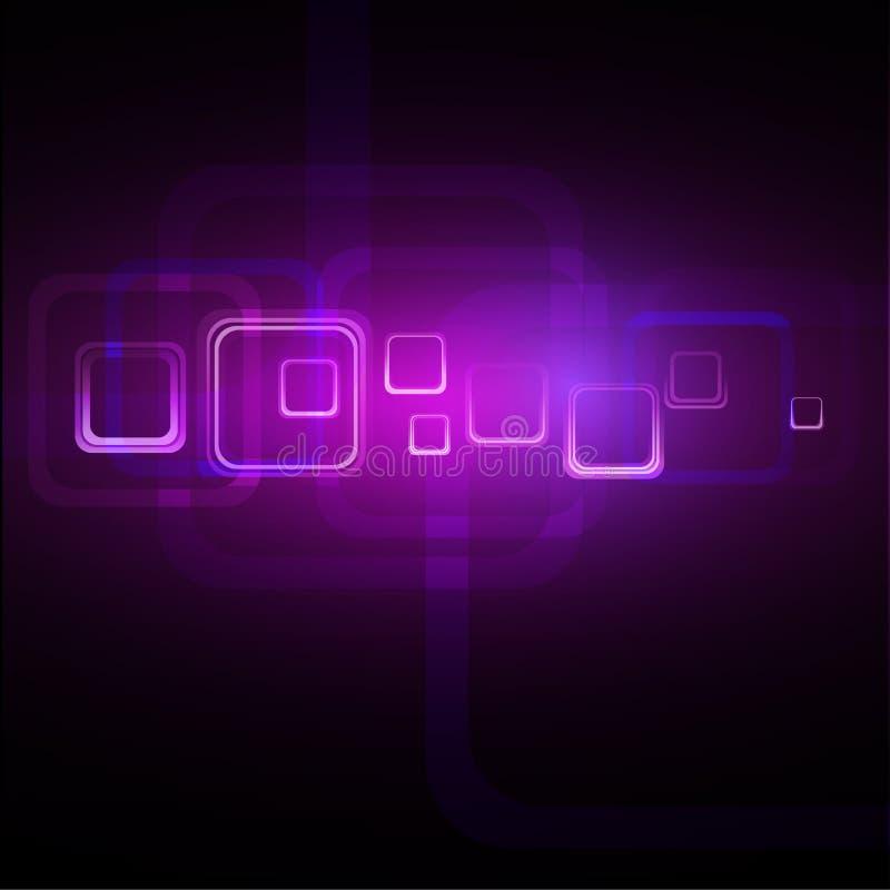 紫色抽象背景 库存例证
