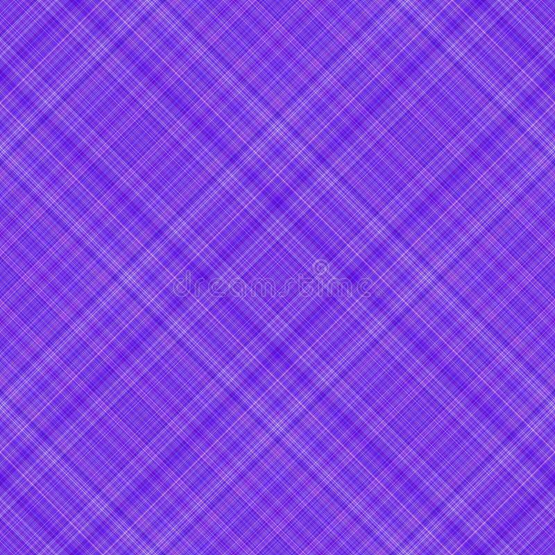 紫色模式格子花呢披肩 免版税库存图片